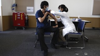 Virus Outbreak Japan Vaccine