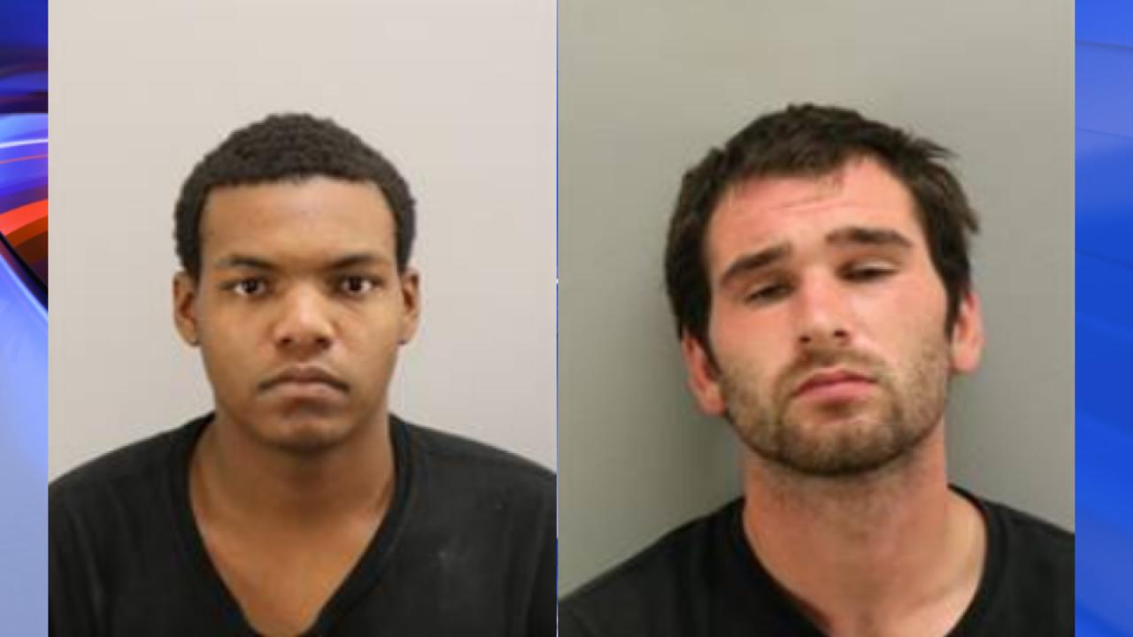 Two men charged in weekend stabbing behind Virginia Beachbusiness