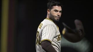 Padres Giants Baseball eric hosmer