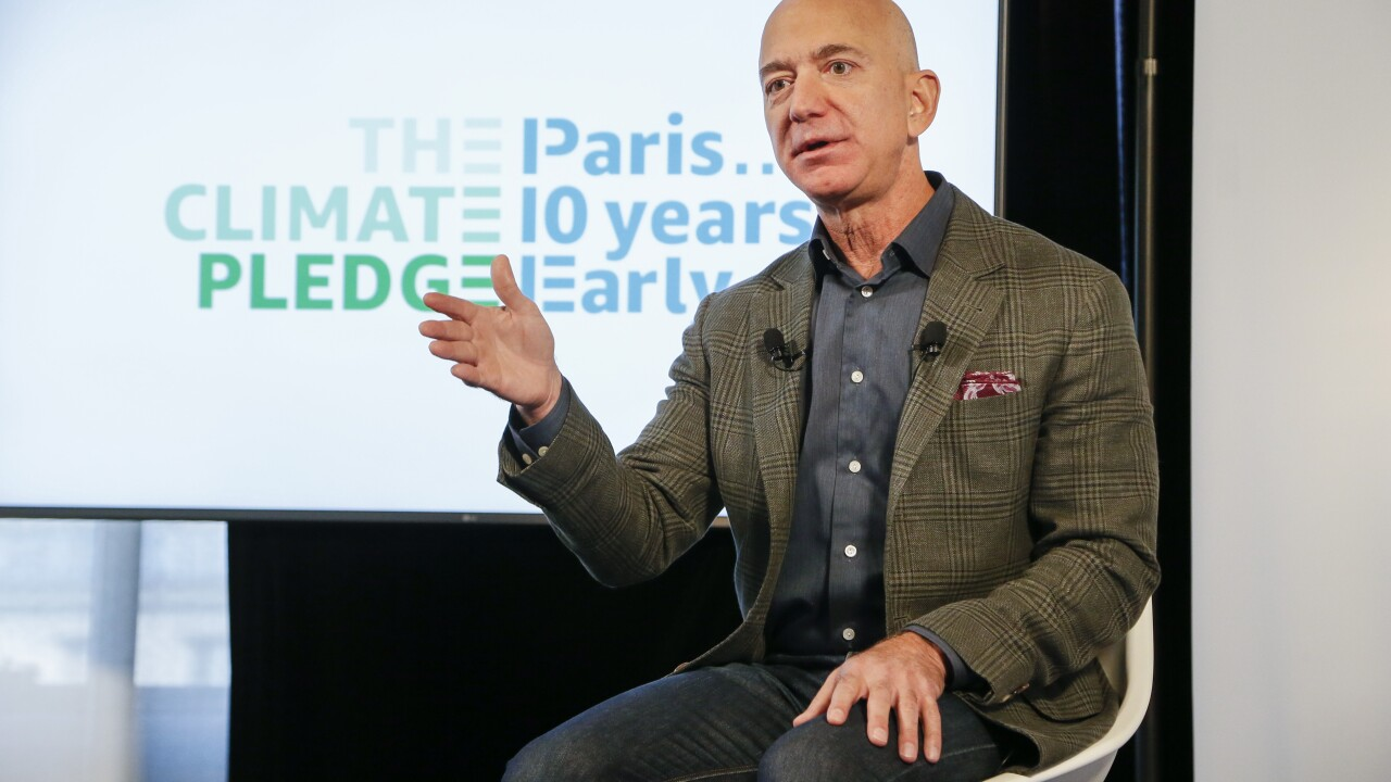 Jeff Bezos commits $10 billion to fight climate change