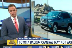 Toyota recalling RAV4 vehicles due to faulty back-up camera system