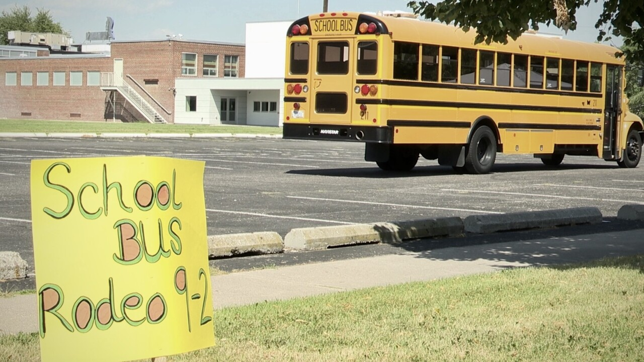 At 'Bus Rodeo' drivers test school buses in Missoula