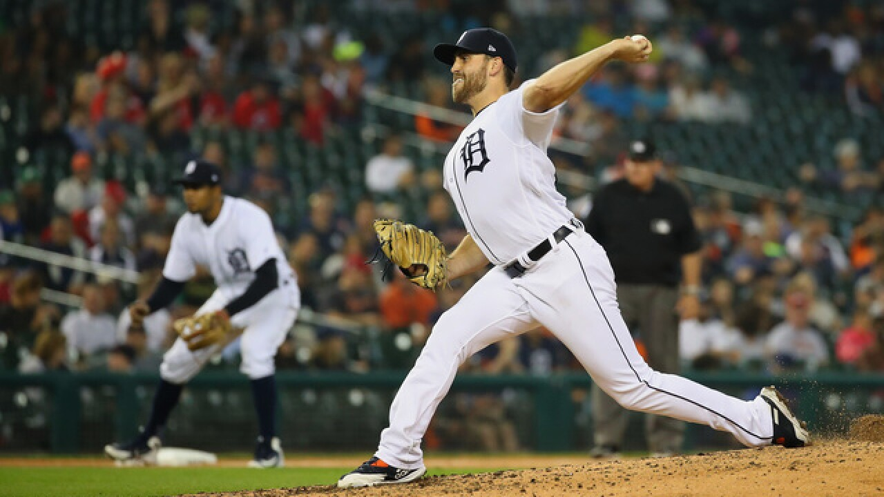 Boyd throws eight scoreless innings, Tigers beat Reds