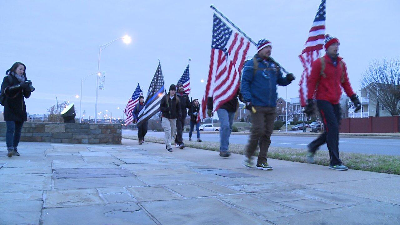 Freedom Ruck leaves Richmond; raises money for militaryveterans