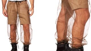 Mesh Mosquito Pants Slip Over Your Shorts To Ward Off Bug Bites