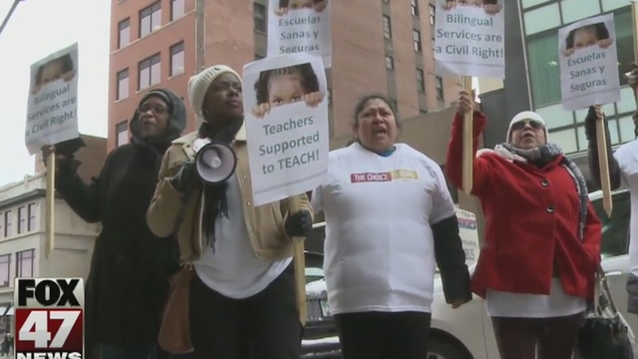 Detroit parents ask lawmakers for help