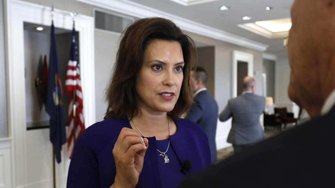 Gretchen Whitmer_getty images