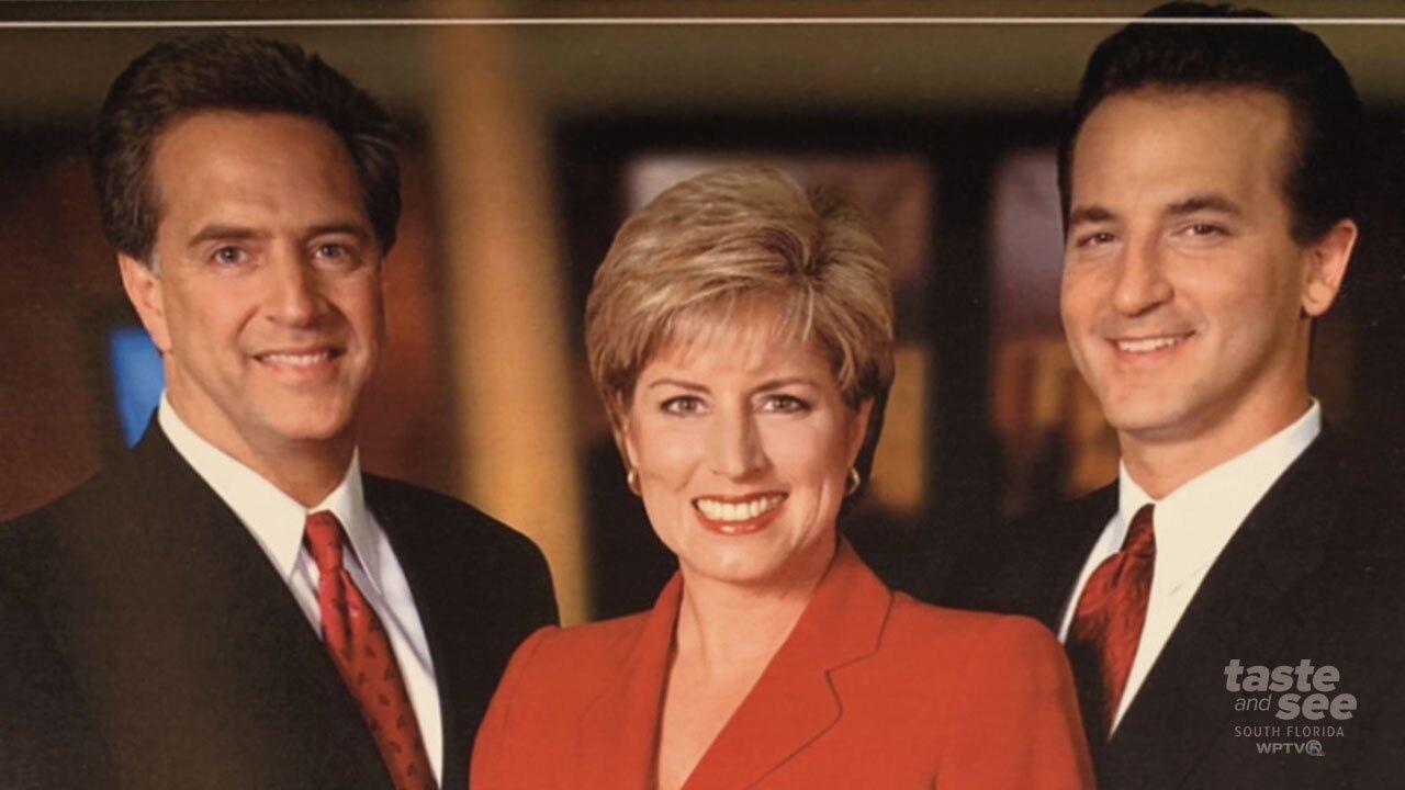 The 'Three Amigos,' anchors John Favole, Roxanne Stein, and meteorologist Dean Tendrich.