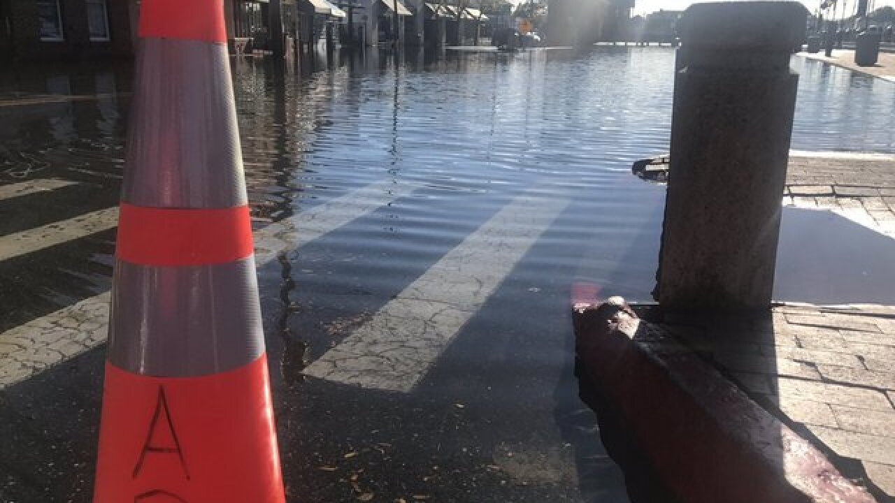 Flooding closes Annapolis Streets Tuesday morning