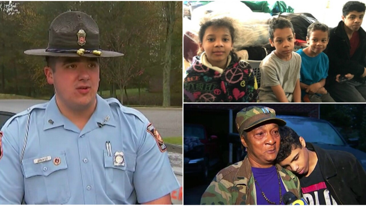 State trooper delays telling children of parents' death, takes care of them on Halloween