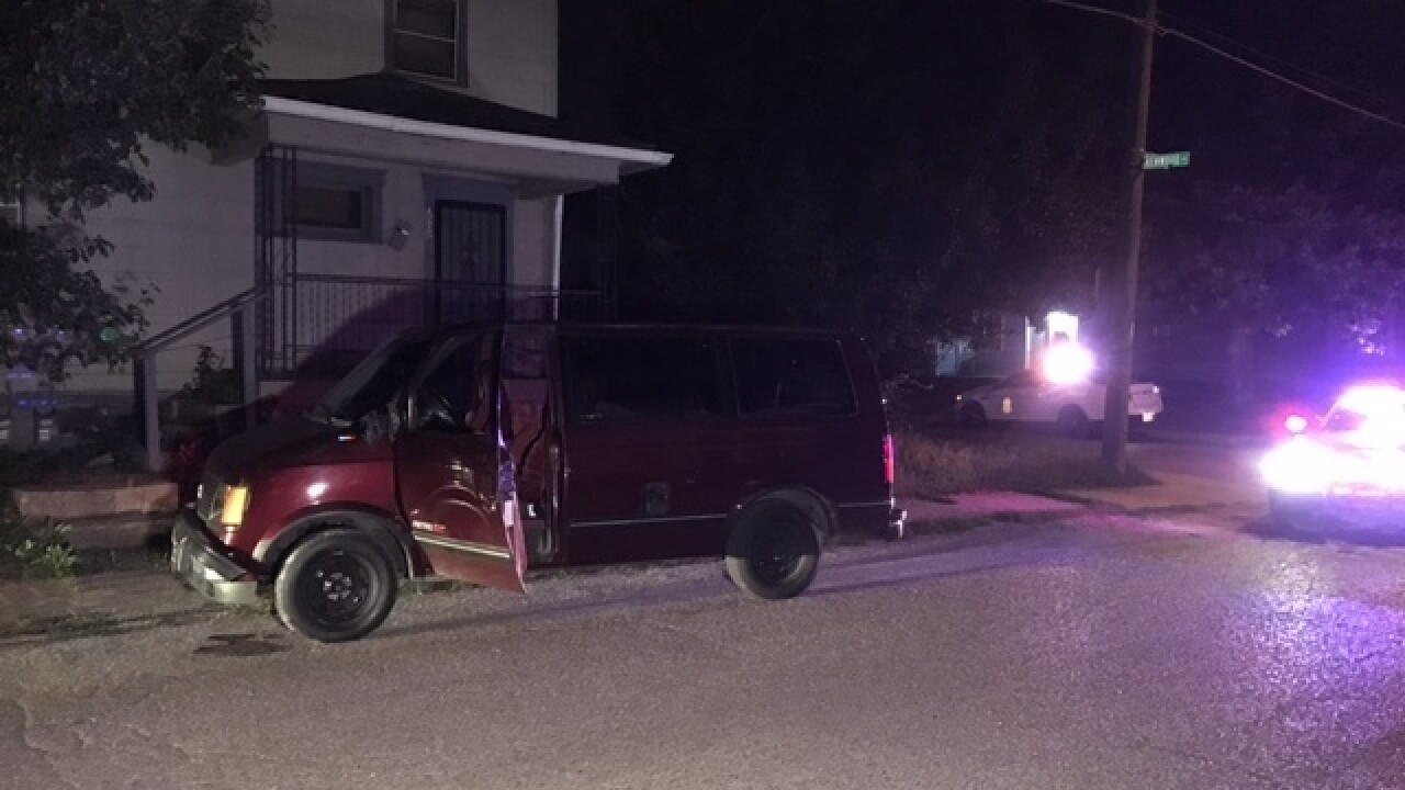 1 shot, 1 hit by van in bizarre N. side incident