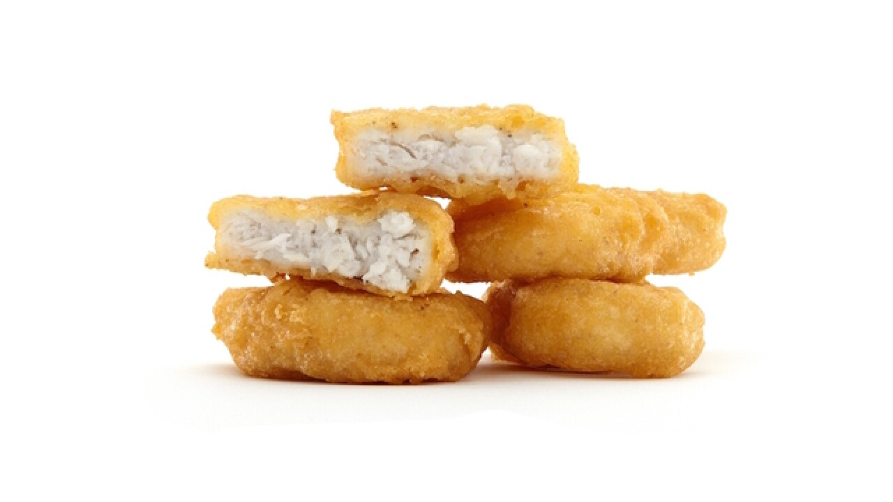 McDonald's testing new McNuggets recipe