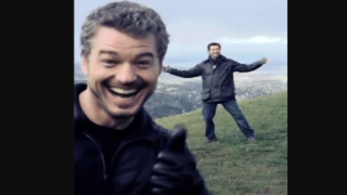 'Grey's Anatomy' Fans Will Recognize This 'social Distancing' Photo Of McDreamy And McSteamy