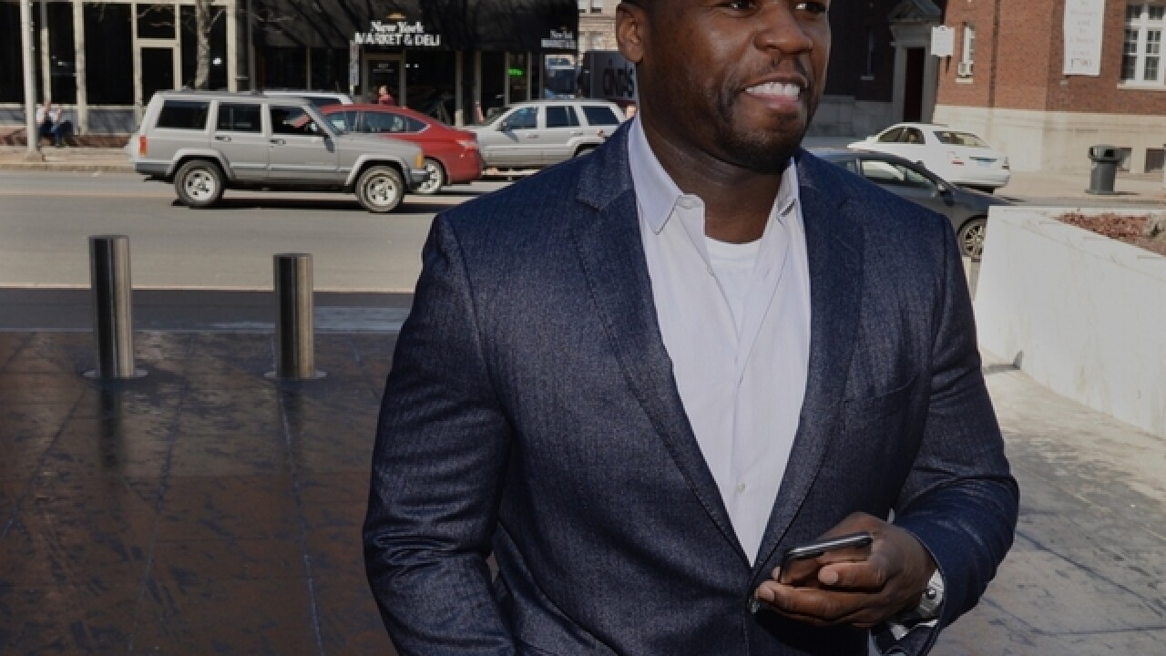 50 Cent arrested and charged for using 'indecent language'