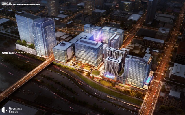 PHOTOS: See the first renderings of the coming Amazon operations hub in Nashville
