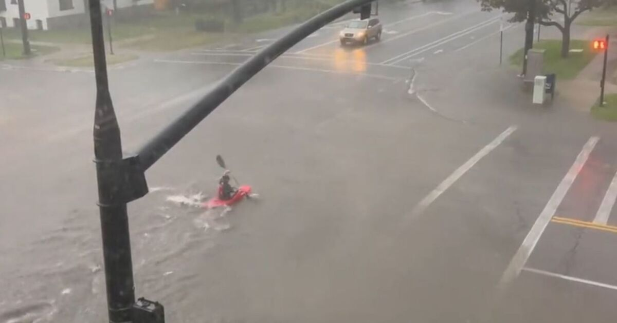 Heavy rain, flooding hits Wasatch Front, Tooele area