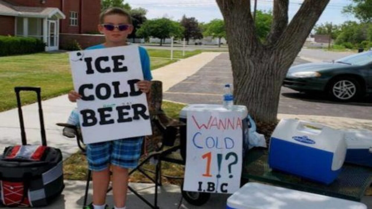 This Boy Had A Genius Marketing Strategy For Selling Root Beer On A Hot Day