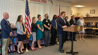 Governor Ron DeSantis in Clearwater for FSA announcement