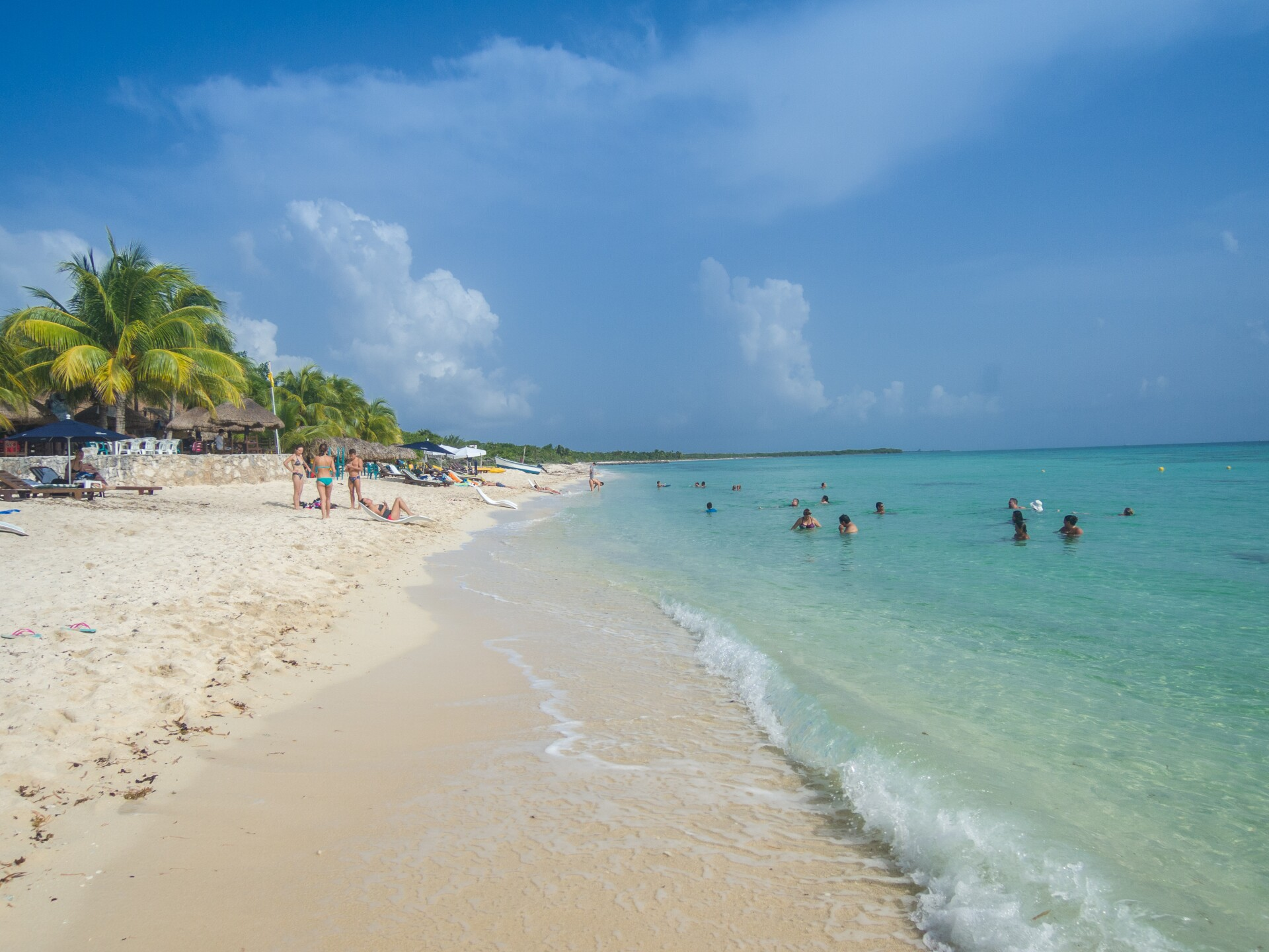 Cozumel Beach in Mexico