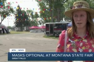 Masks optional at Montana State Fair