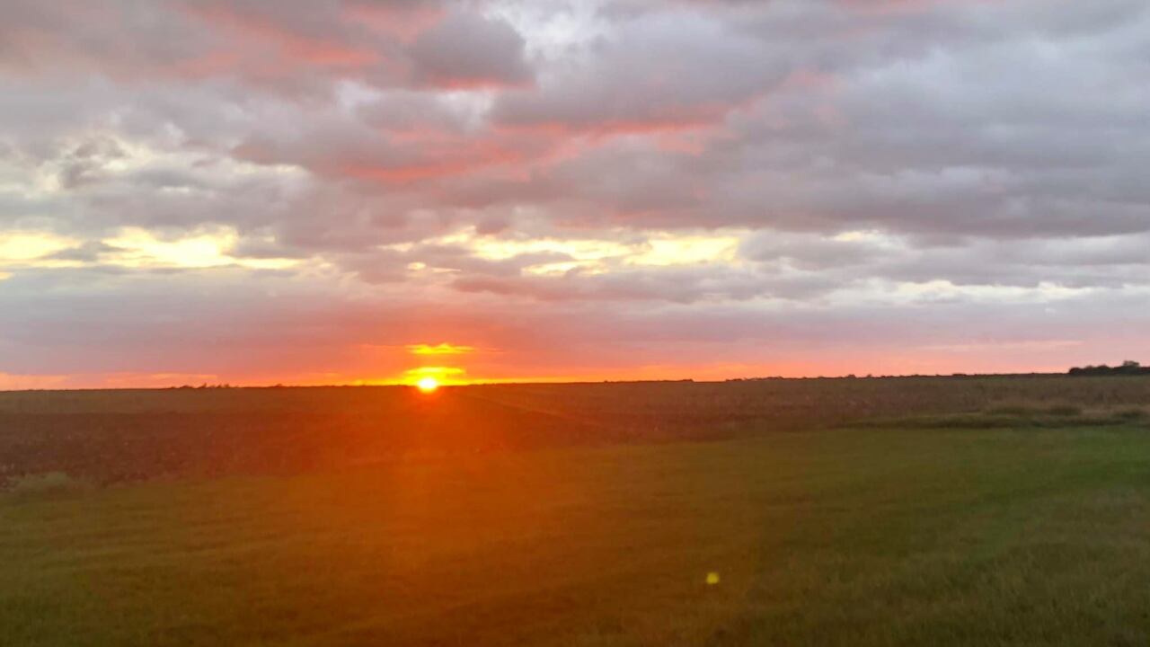 Sunset in Tynan, Texas - Photo By: FB Coastal Bend Weather Watcher Senecia Ankrom Mengers