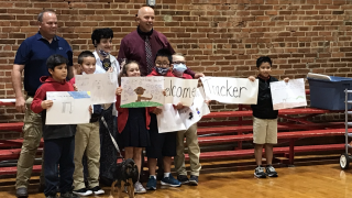 Green Country school's third grade class wins K-9 naming contest