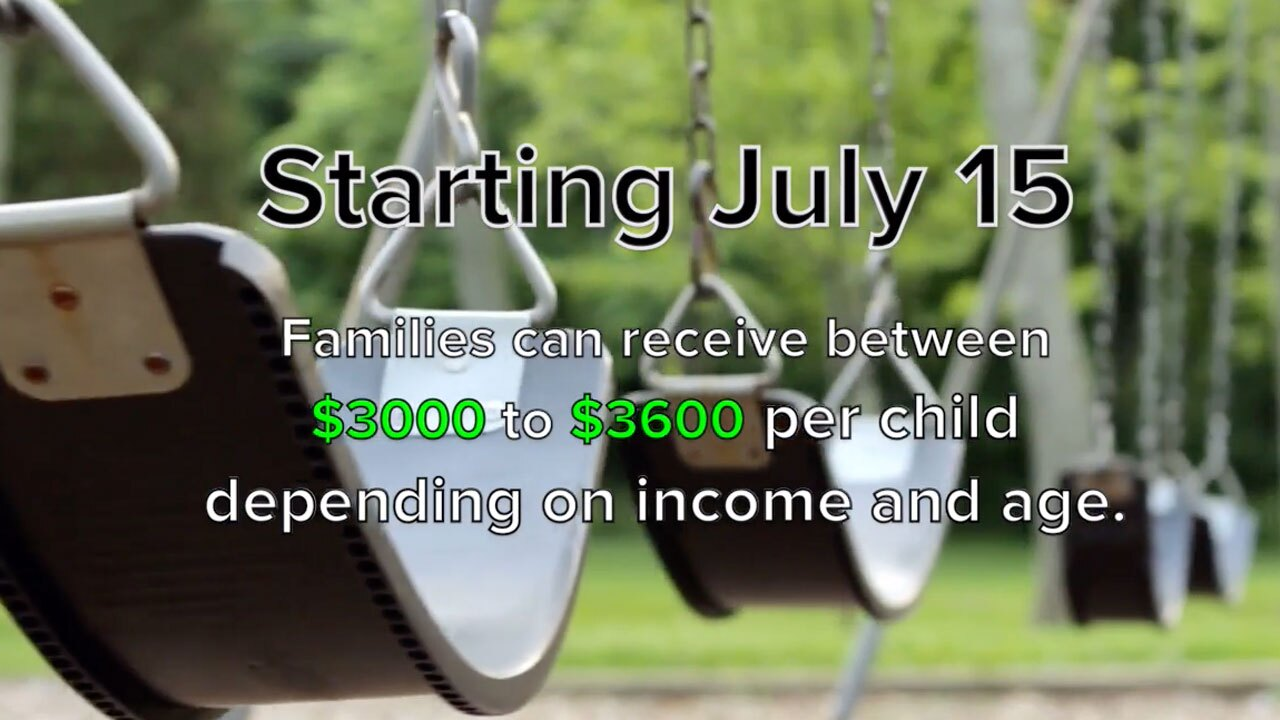 Boost in Child Tax Credits starting July 15, 2021