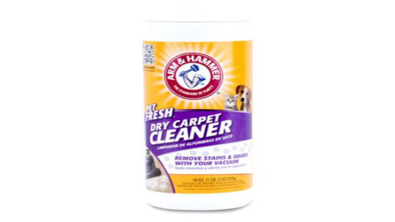 Six Brands Of Dry Carpet Cleaning Powder Recalled By