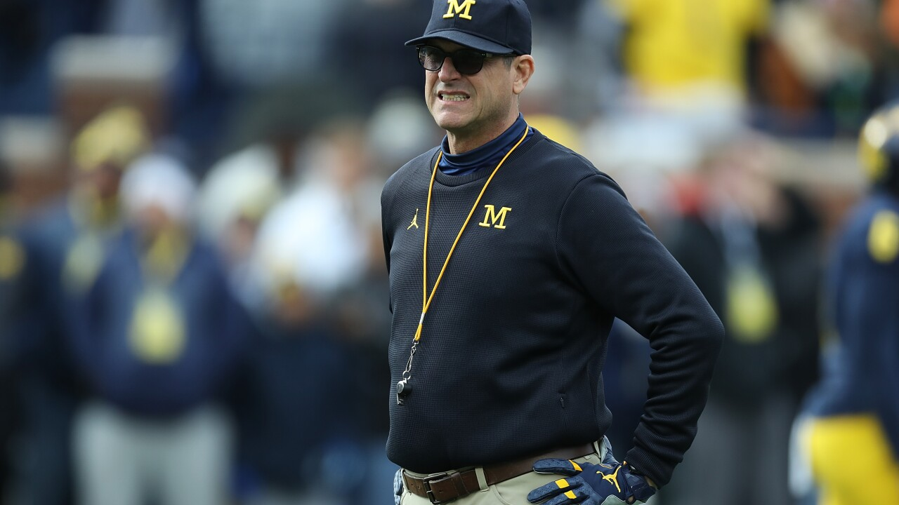 Jim Harbaugh-led Michigan making transition to no-huddle spread