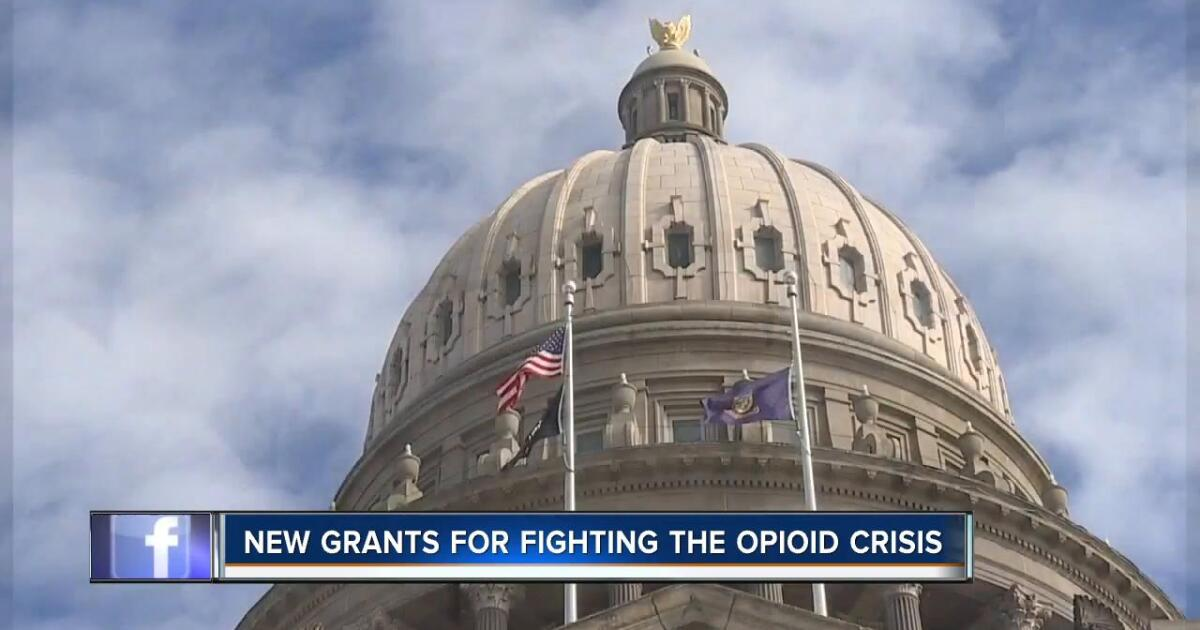 Idaho to receive new grants for opioid crisis