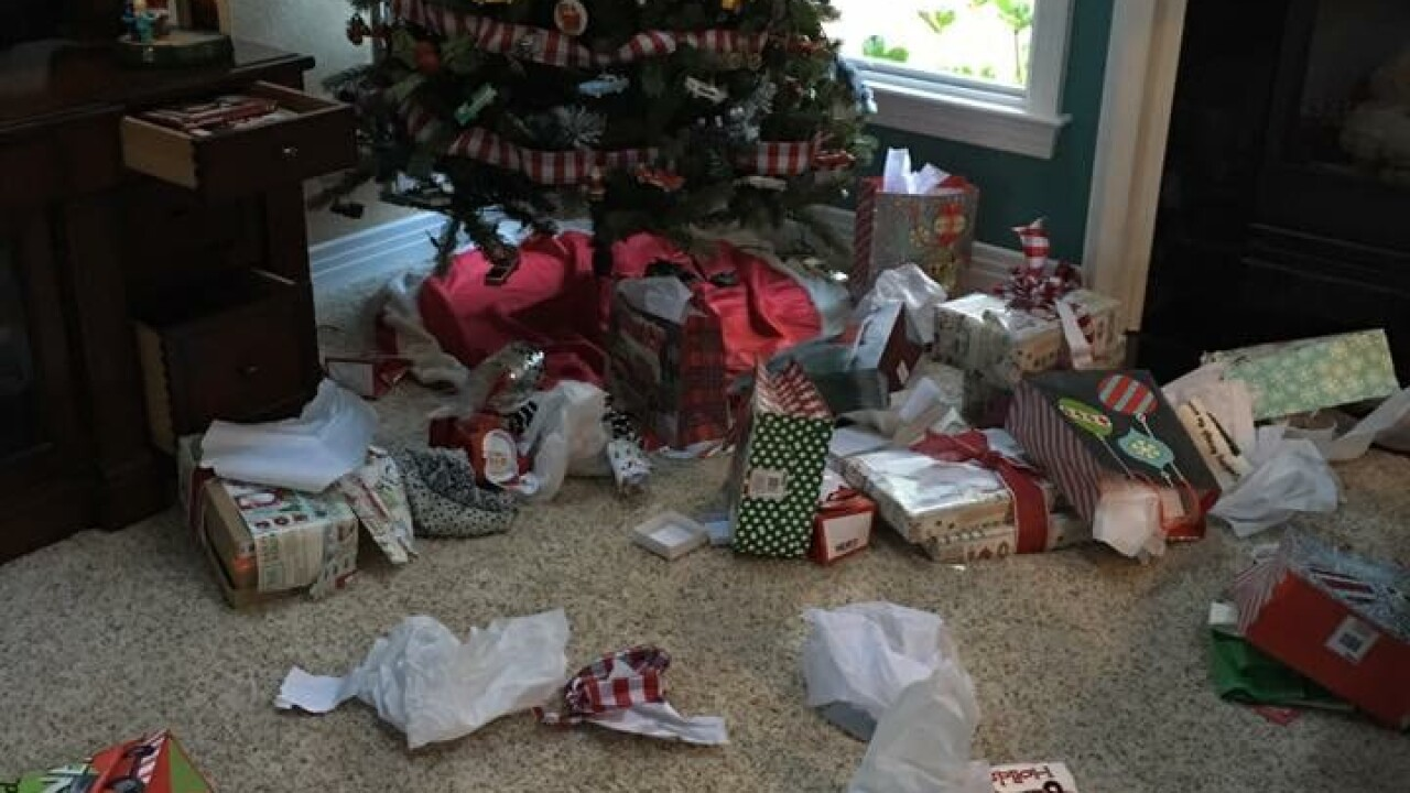 Chesapeake family's homeransacked