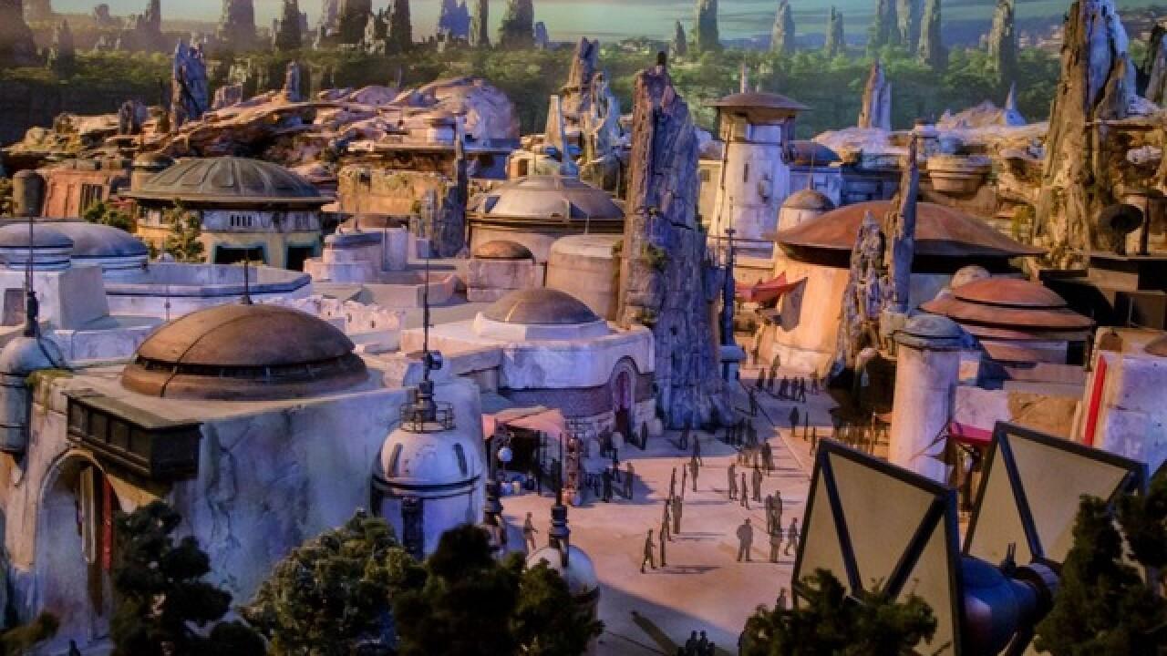 Disneyland's 'Star Wars' land hits summer 2019