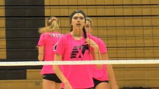 Shauna Stene Billings West Volleyball