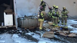 big lots cardboard fire.jpg
