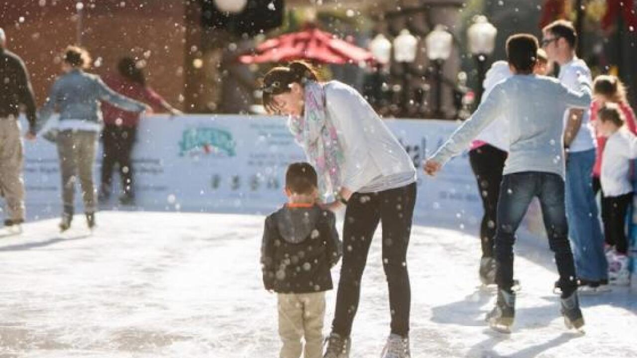 Local outdoor ice rinks open ahead of holiday season