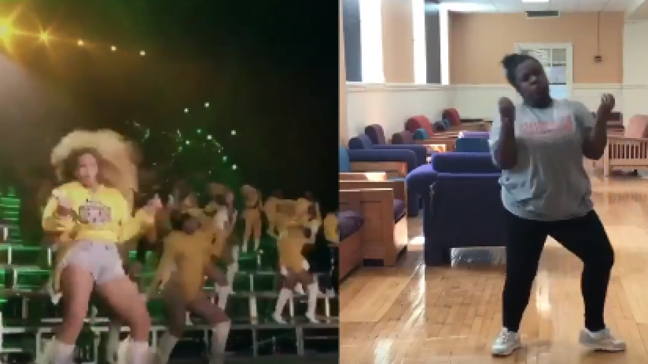VSU student becomes viral sensation with Beyoncé dance routine