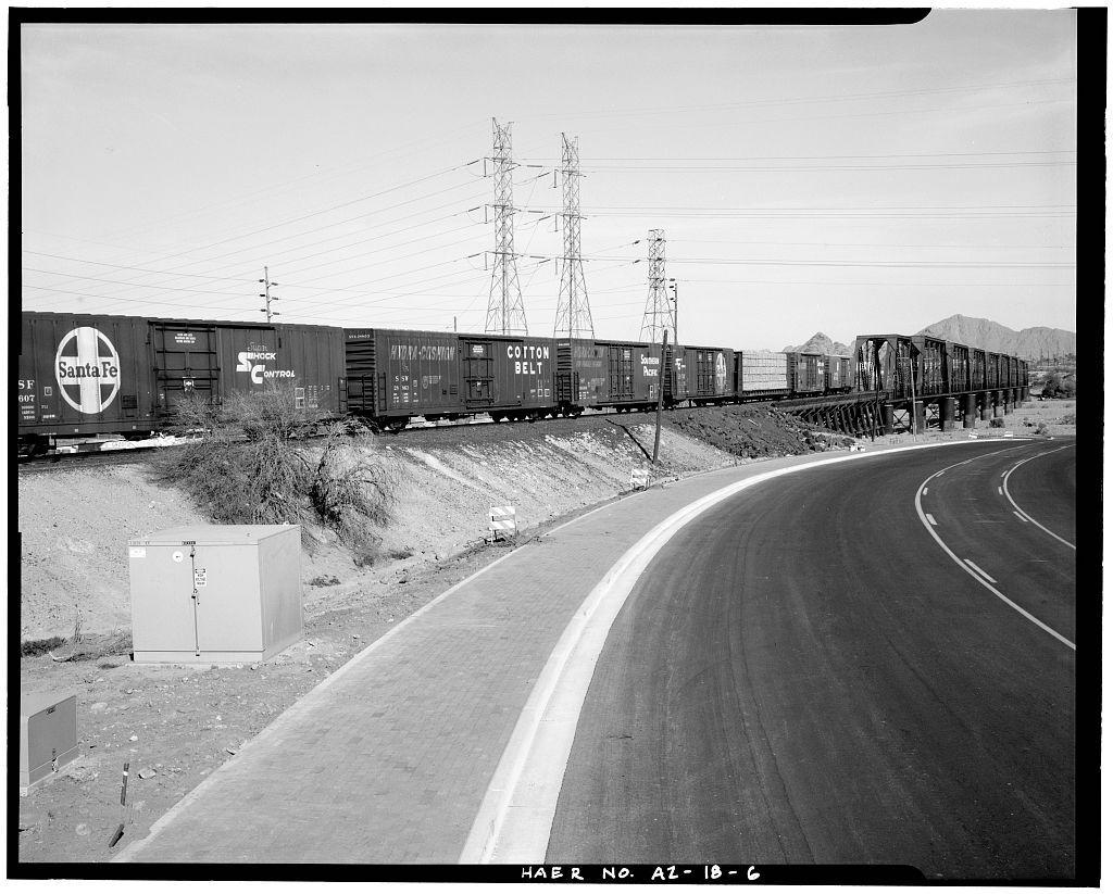 Historic pictures of railroad bridge