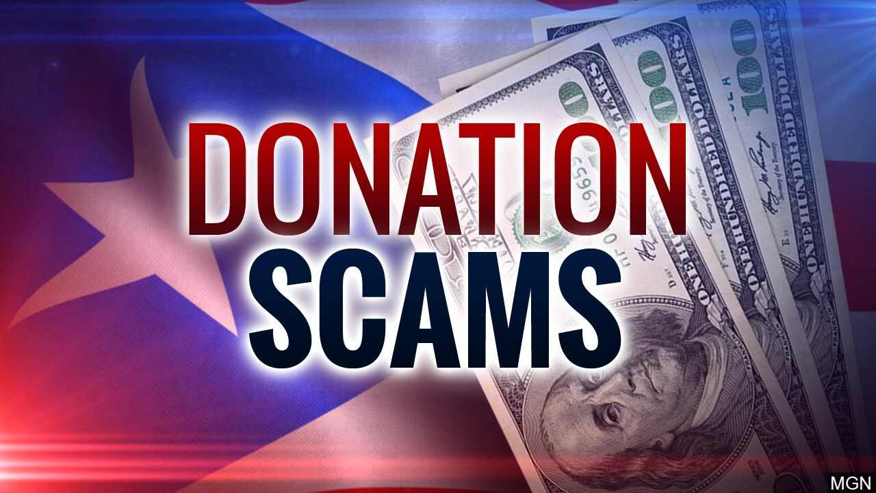 Donation Scams