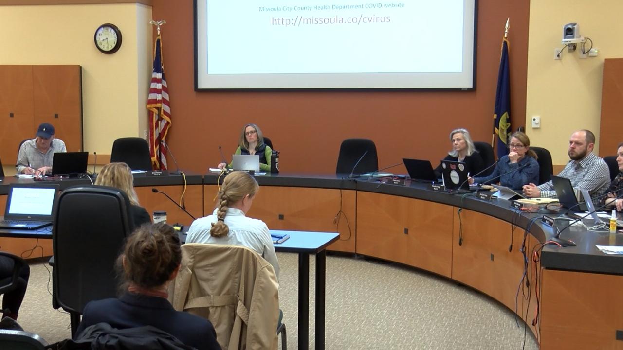 Missoula City Council Coronavirus Briefing