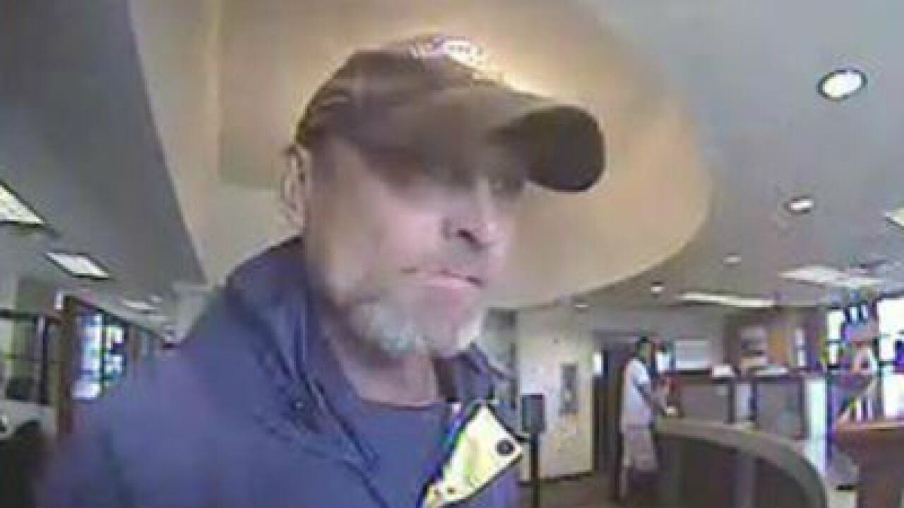 Police looking for suspect in Layton bank robbery
