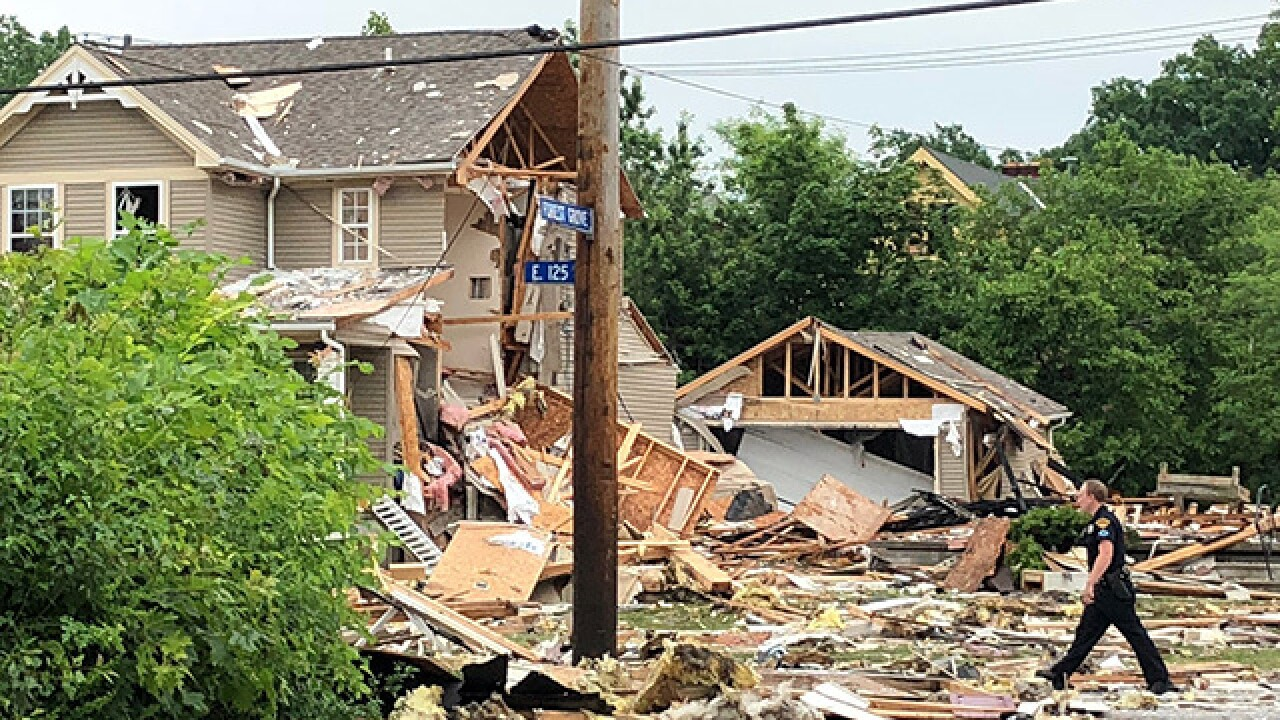 House explosion on Cleveland's east side