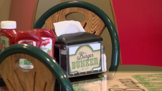 Burger Bunker in downtown Great Falls