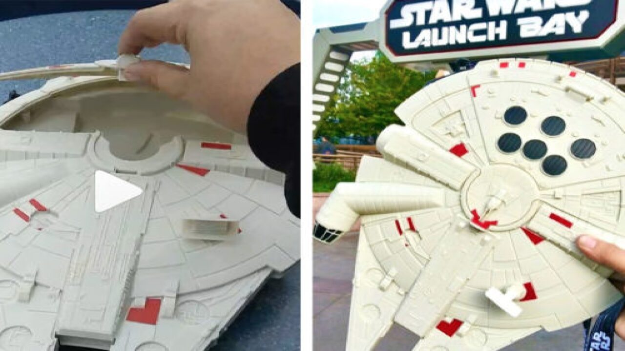 People Are Loving The Millennium Falcon French Fry Bucket At Disneyland