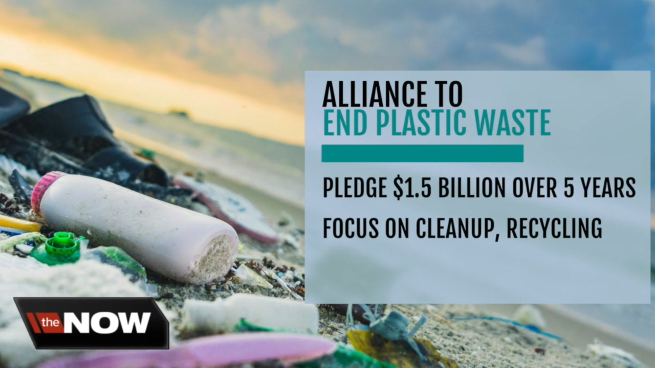 Big companies around the world join alliance to end plastic waste
