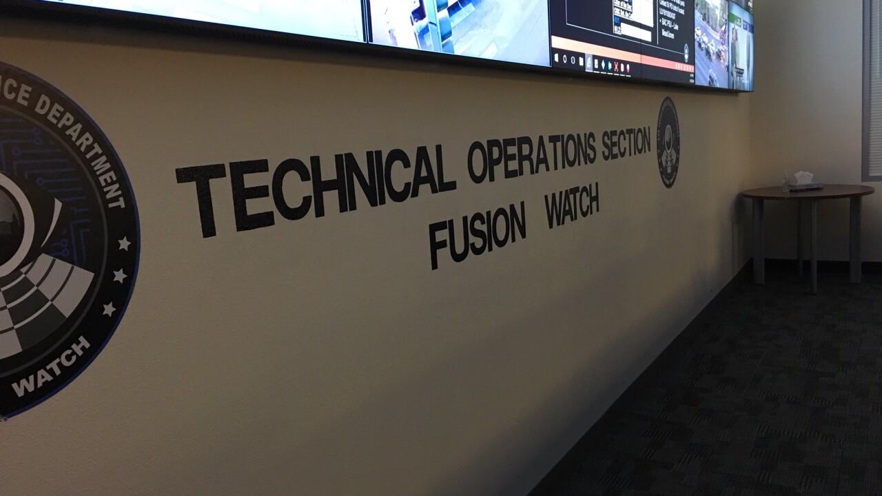 Las Vegas Police Fusion Watch Center