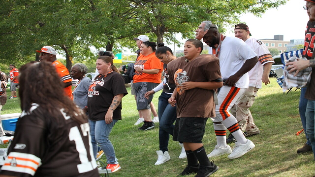 PHOTOS: Tailgating at the Browns home opener