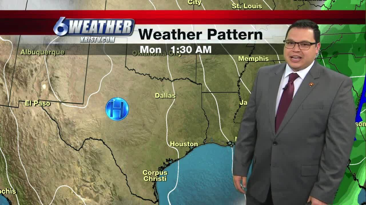 Warmer temperatures today, but rain looms for weekend