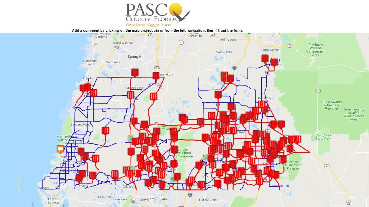 Pasco County Mobility 2045 Transportation Survey