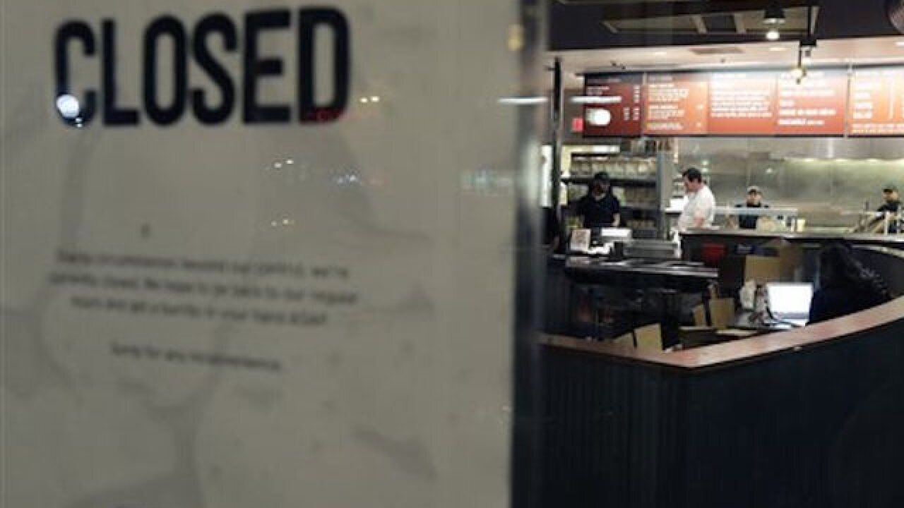 Chipotle close to perfect food safety