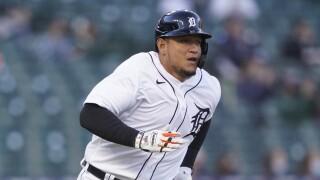 Miguel Cabrera Royals Tigers Baseball